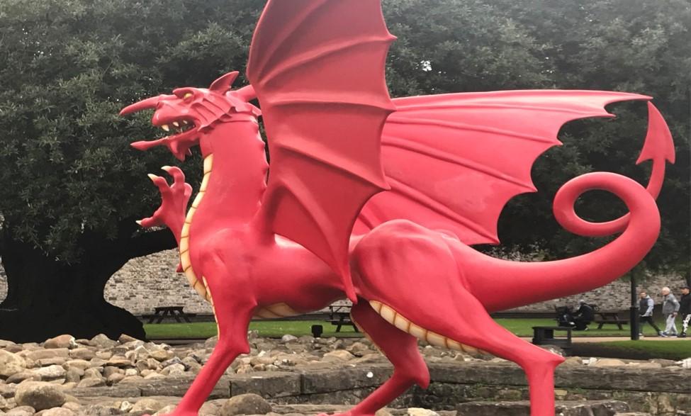 Dragonul rosu –simbolul galezilor
